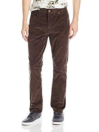 Rip Curl Mens Riggs Tailored Fit Pant, Brown 28