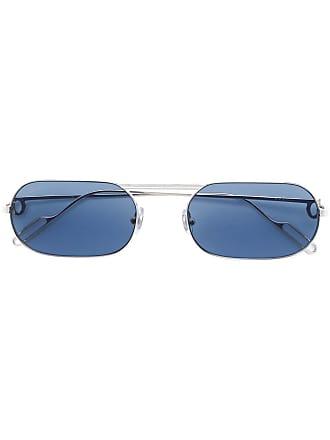 68fbc64975b Cartier Óculos de sol quadrado - Prateado