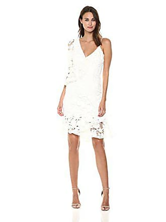 Keepsake the Label Womens Frameless Dress, Ivory, S
