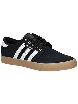 on sale ea2bf 90d9b adidas Seeley Skate Shoes core black   ftwr white   gol