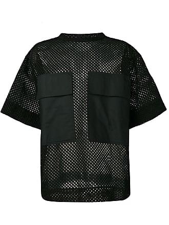 OAMC Camiseta de tela - Preto