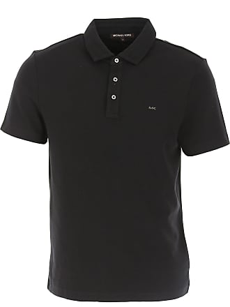 839d59b1 Michael Kors Polo Shirt for Men On Sale, Black, Cotton, 2017, M