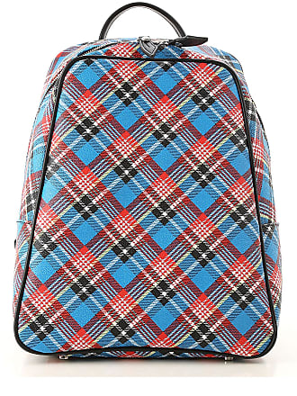 Vivienne Westwood Backpack for Women, Bluette, Coated Canvas, 2017, one size
