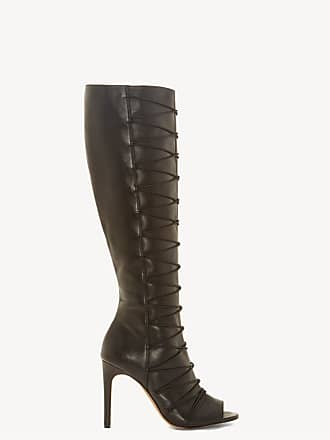 93b14e8a6 Vince Camuto Womens Kentra Heeled Boots Black Size 11 Silky Leather Stretch  Elastic From Sole Society