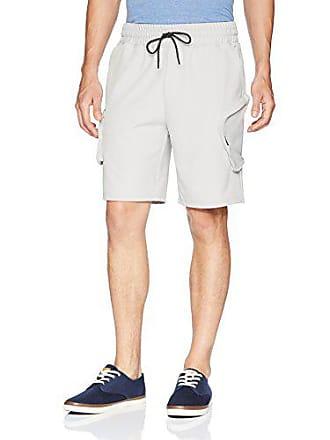 2(x)ist Mens Cargo Short Shorts, Cloud Grey, Medium