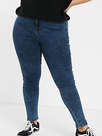 Urban Bliss high waist skinny jeans with removable belt-Blue