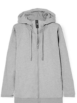 a14493c590c7 adidas by Stella McCartney Essentials French Cotton-blend Terry Hoodie -  Gray