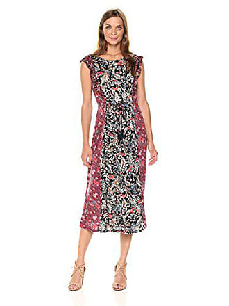 Lucky Brand Womens Mixed Floral Dress, Multi, Small