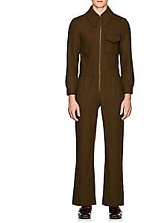 2be9452e9e9d Gucci Mens 5-Pocket Wool Jumpsuit - Olive Size 46 EU