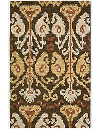 Nourison Siam (SIA02) Chocolate Rectangle Area Rug, 8-Feet by 10-Feet 6-Inches (8 x 106)