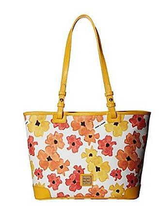 Dooney & Bourke Bloom Small Leisure Shopper (Yellow/Dandelion Trim) Handbags