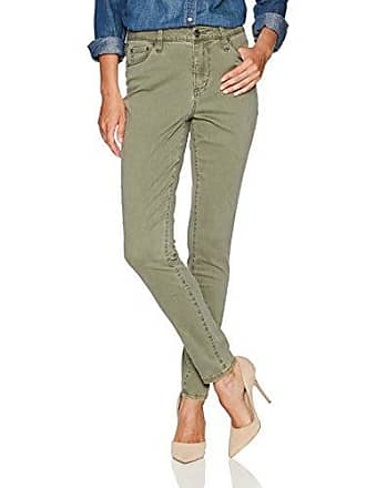 Jag Jeans Womens Gwen High Rise Skinny Pant, Deep Olive, 0