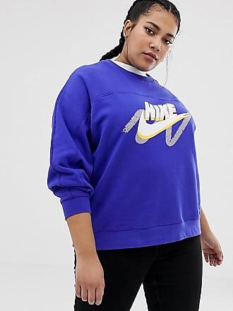 ddc820819589 Nike Plus - Archive Graphic - Sweat-shirt à logo - Bleu