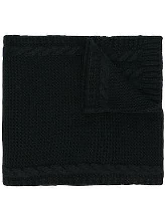 Moncler Cachecol de lã mista - Preto