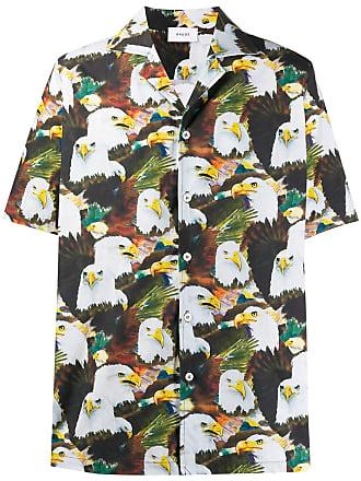 Rhude Camiseta American Eagle - Marrom