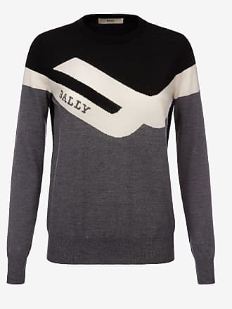 Bally Competition Crew Neck Jumper Grey 38