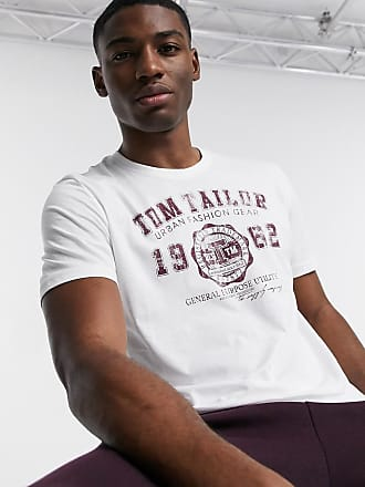 Tom Tailor Camiseta con logo de Tom Tailor-Blanco