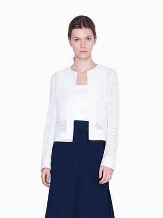 Akris Jacket in Lightweight Grid Lace