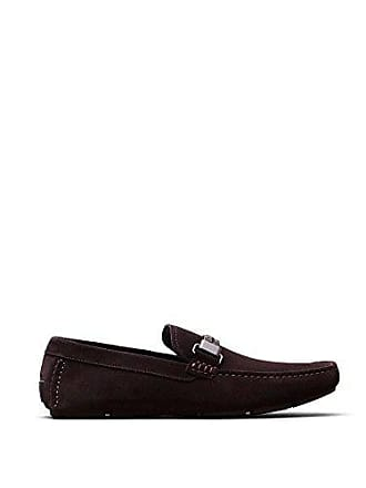 Kenneth Cole Mens Multi-ply Slip-On Loafer, Brown, 10 M US