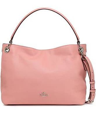 ca0b389ea68 Coach Coach Woman Textured-leather Shoulder Bag Baby Pink Size