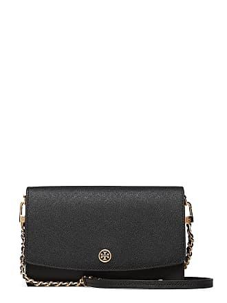 83df7184124f Tory Burch Robinson Chain Wallet Bags Small Shoulder Bags/crossbody Bags  Svart TORY BURCH