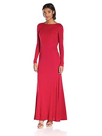 342f9b7f894 Vera Wang Womens Rayon Jersy Long Sleeve Maxi Dress, Pirate, 8