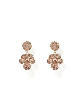 Forever New Susanne Small Jewelled Drop Earrings - Blossom - 00