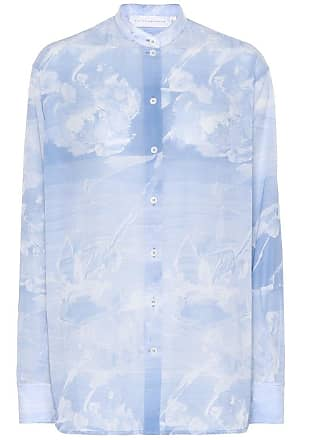 Victoria Beckham Printed cotton shirt