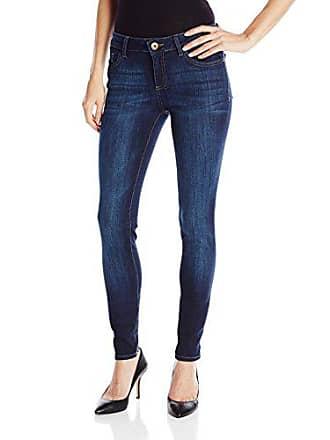 DL1961 Womens Danny Mid Rise Full Length Skinny Jeans, Pulse, 30