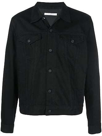 Givenchy logo print denim jacket - Black