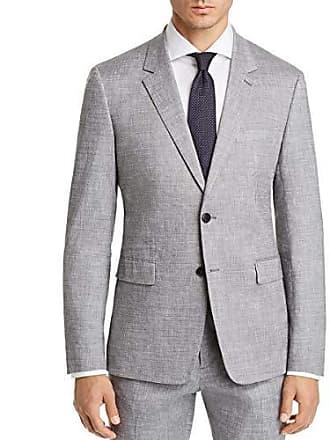 bf469001e5 Theory Mens Gansevoort Slubbed Suiting Jacket, Grey Melange, 38
