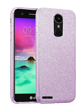Mundaze Purple Glitter Dazzle Case For LG Stylo 3 Phone