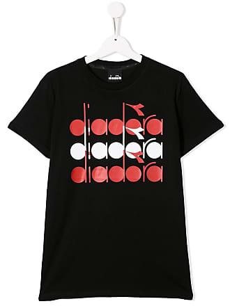 Diadora printed logo T-shirt - Preto
