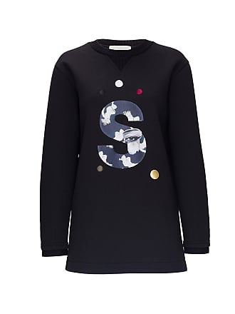 Surreal but nice Printed Neoprene Sweatshirt Black 77f8de653