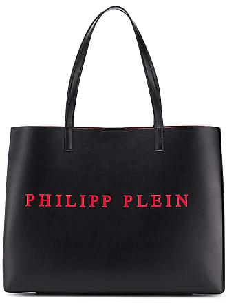 Philipp Plein Bolsa tote com logo - Preto