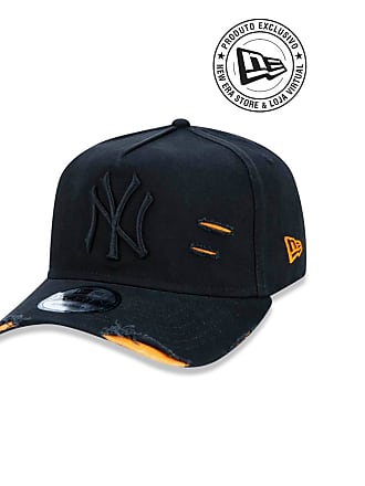 New Era Boné 940 New York Yankees MLB Aba Curva New Era - Masculino 743bc46381d7