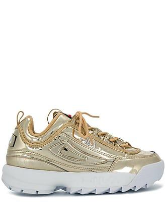 Fila chunky heel sneakers - Gold