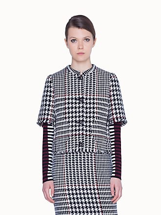 Akris Short Sleeves oversized Wool Jacket