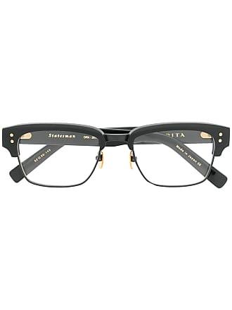 Dita Eyewear Armação de óculos retagular Statesman - Preto