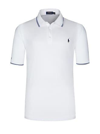 Polo Ralph Lauren Übergröße   Polo Ralph Lauren, Poloshirt aus 100%  Baumwolle in Weiss 208f1ed0d3