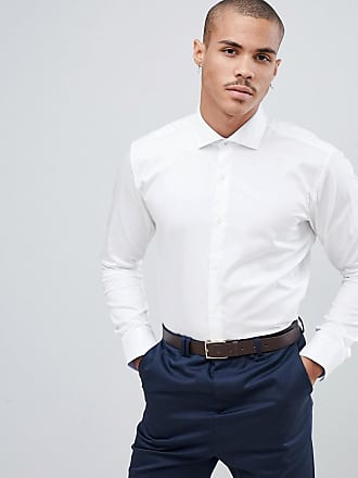 Ted Baker shirt with stretch in white - White