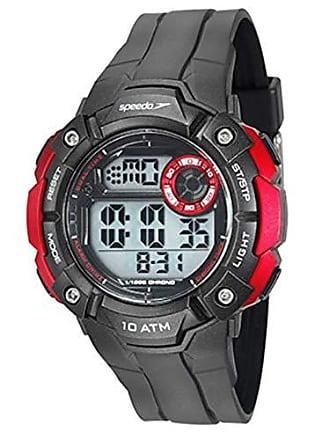 Speedo Relógio Masculino Speedo Digital Preto/vermelho