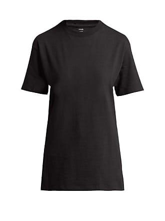 Hanes x Karla Hanes X Karla - The Classic Cotton Jersey T Shirt - Womens - Black