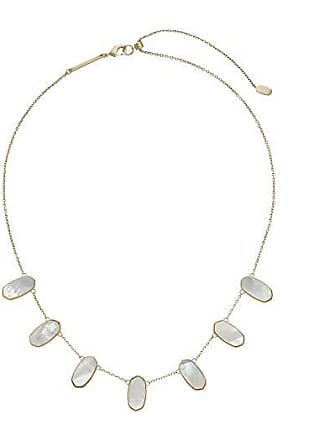 Kendra Scott Meadow Necklace (Gold/Ivory Mother-of-Pearl) Necklace