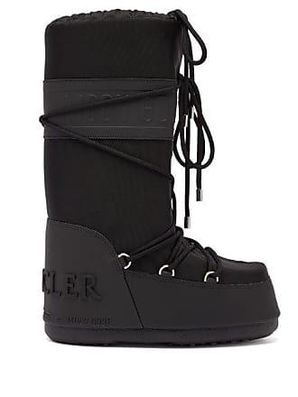 b6916db76 Moncler X Moon Boot Venus Shearling Aprés Ski Boots - Womens - Black