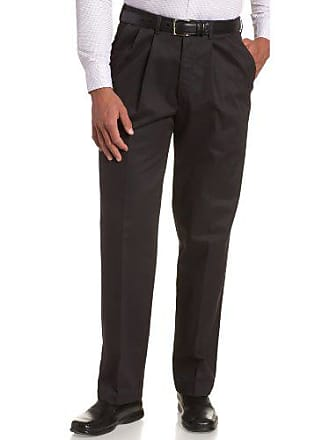 7dc22ef5148 Haggar Mens Big-Tall Work To Weekend Hidden Expandable Waist Pleat Front  Pant