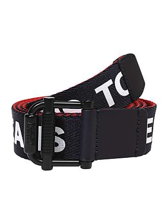 03e5dcbd3aa Tommy Jeans Riem TJM Roller Webbing Belt 3.5 REV donkerblauw / rood / wit