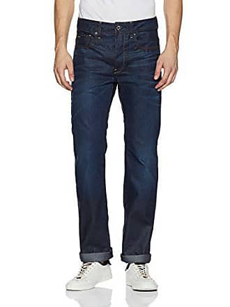 6fb1e5df750 G-Star Raw Mens 3301 Hydrite Denim Straight Leg Jean, Dark Aged, 31x32