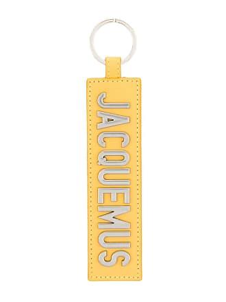 Jacquemus Chaveiro com logo - Amarelo