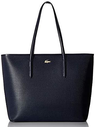 e170a250c9 Lacoste Womens Zip Shopping Bag, NF2335CE,peacoat